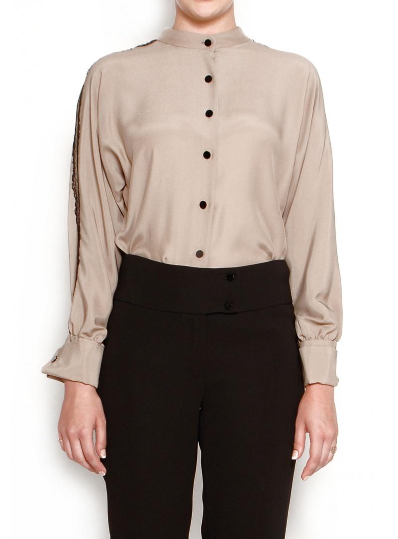 Haute Couture Completo Coordinato Camicia seta 100% e