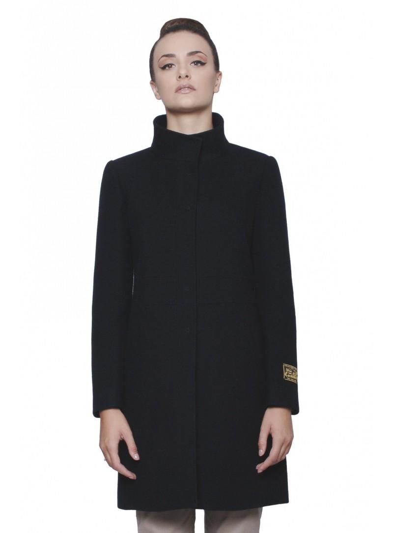cappotto donna nero korean style