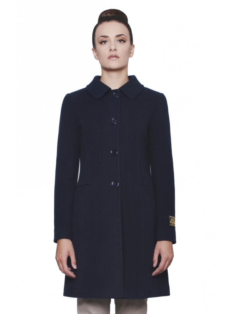 cappotto martingala blu
