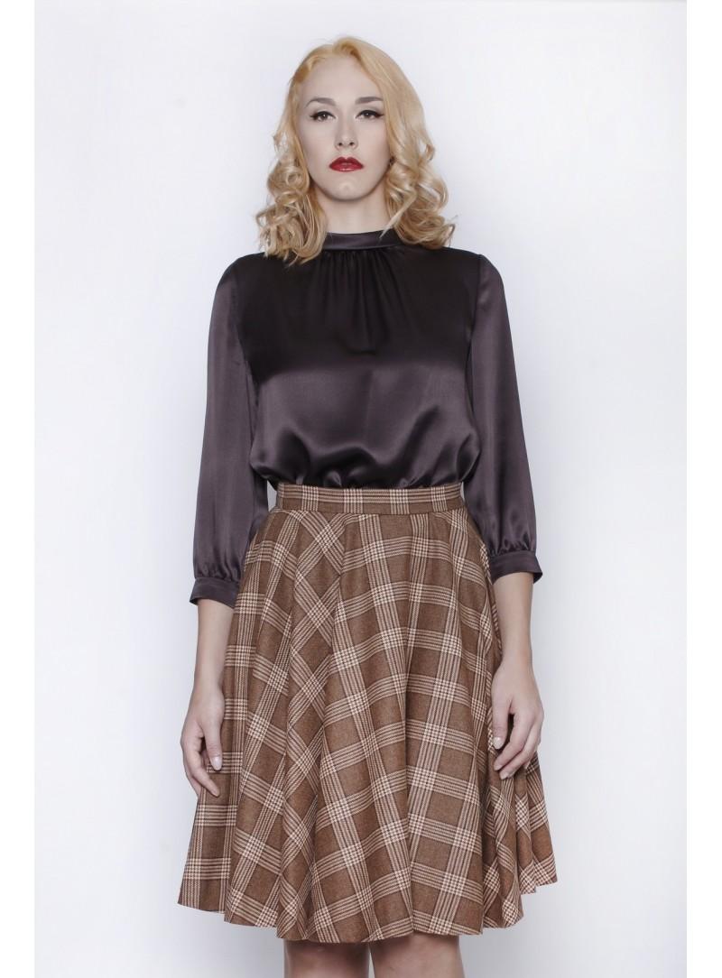 Haute Couture Abito Donna Doppia Seta 100% CSS 718