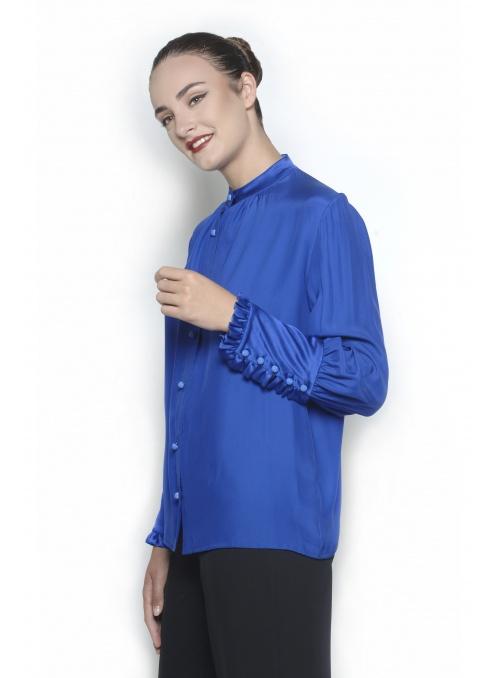 Camisa de mujer 100% seda...