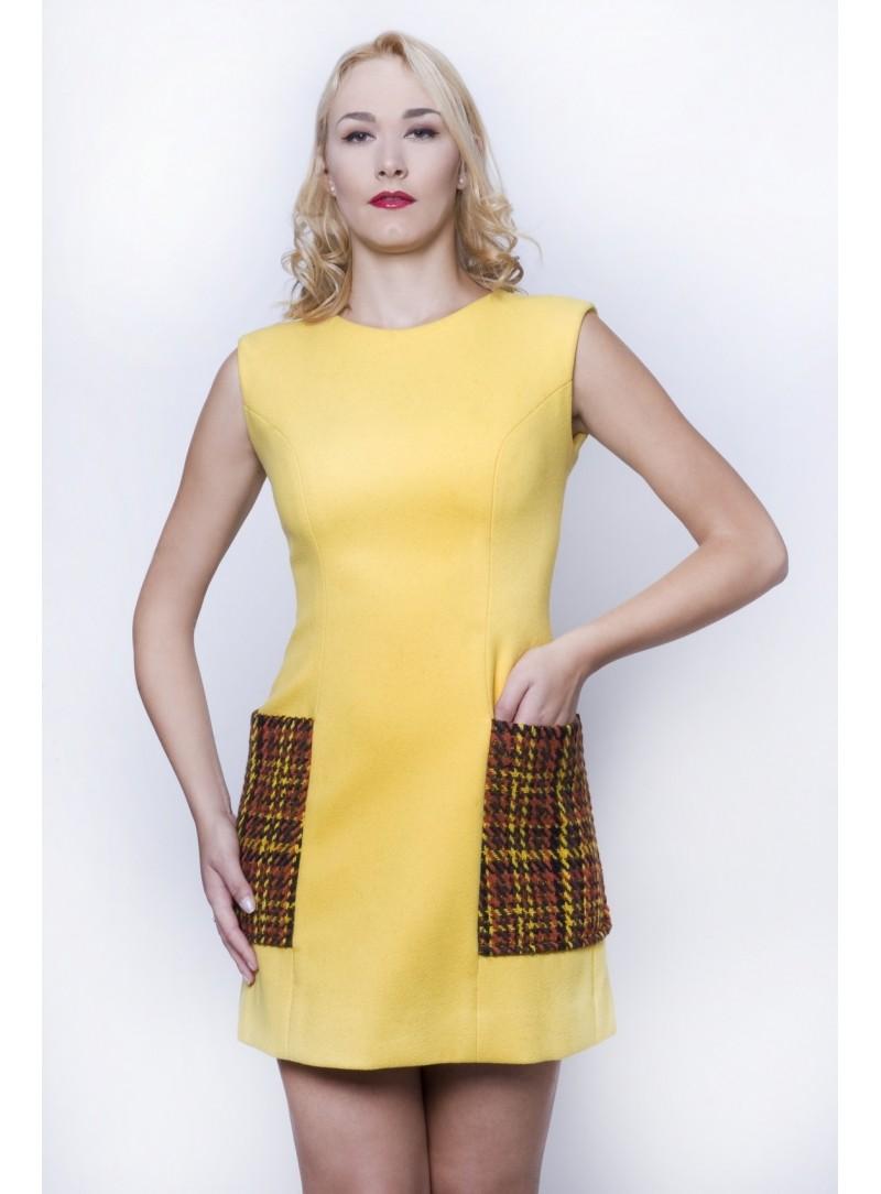 3da9f65525f1 Haute Couture Abito Donna in lana pettinata 100% CSS 798