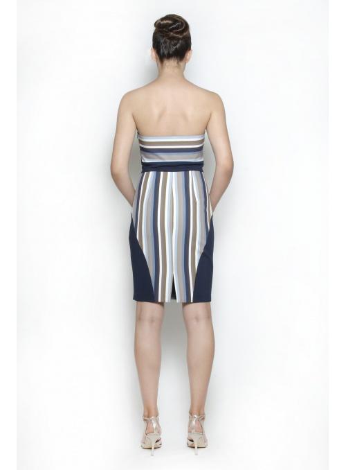 Damenkleid, gemustert SPN...